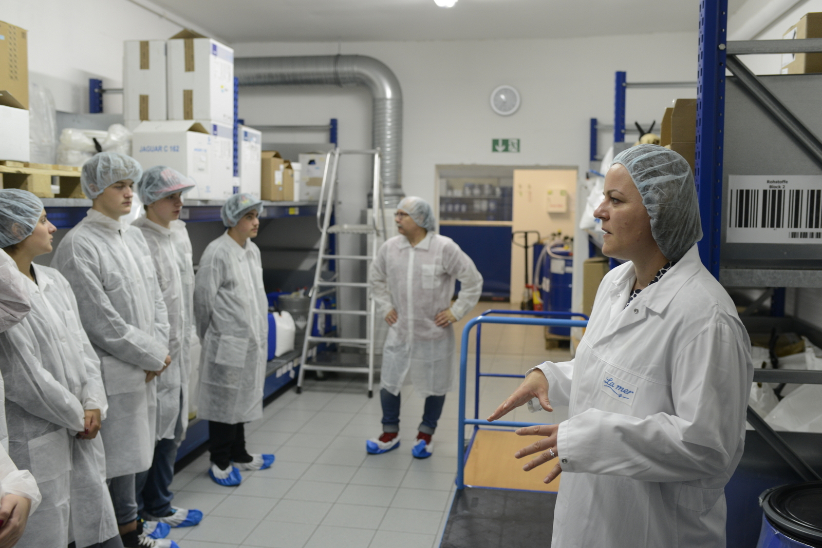 Entrepreneurship-Seminar besucht LaMer in Cuxhaven