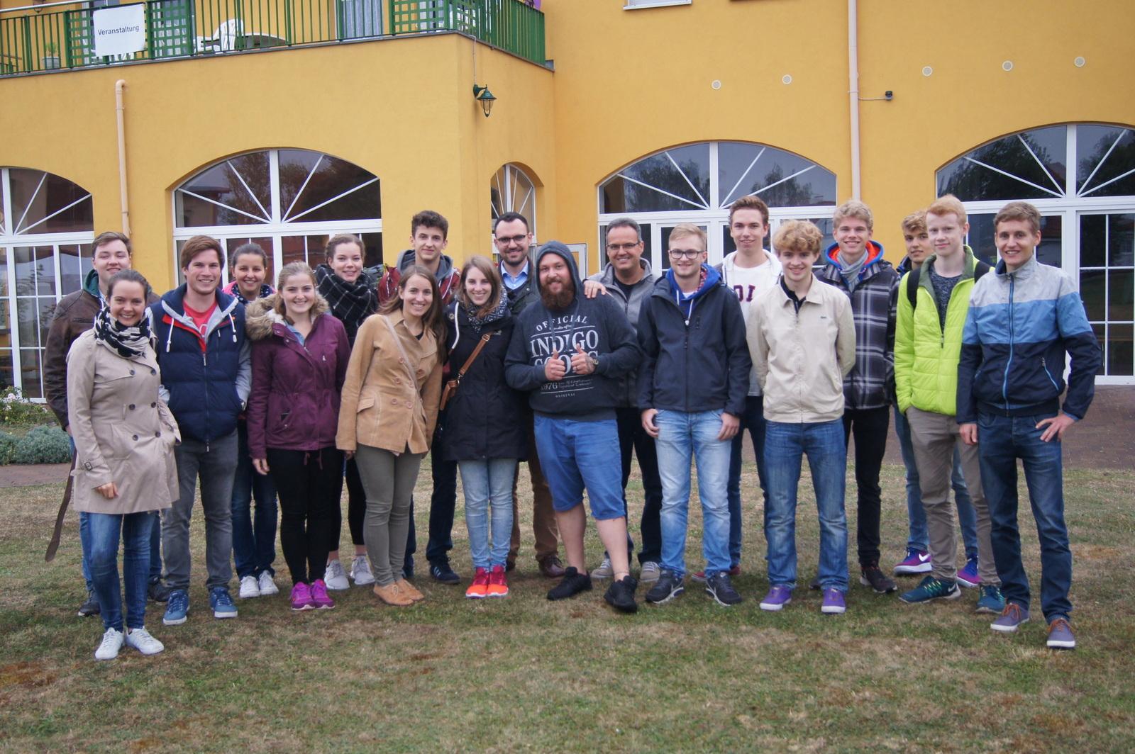 Die Jugendlichen der Campus-Weggemeinschaft konnten von den Erfahrungen der Suchtkranken lernen.